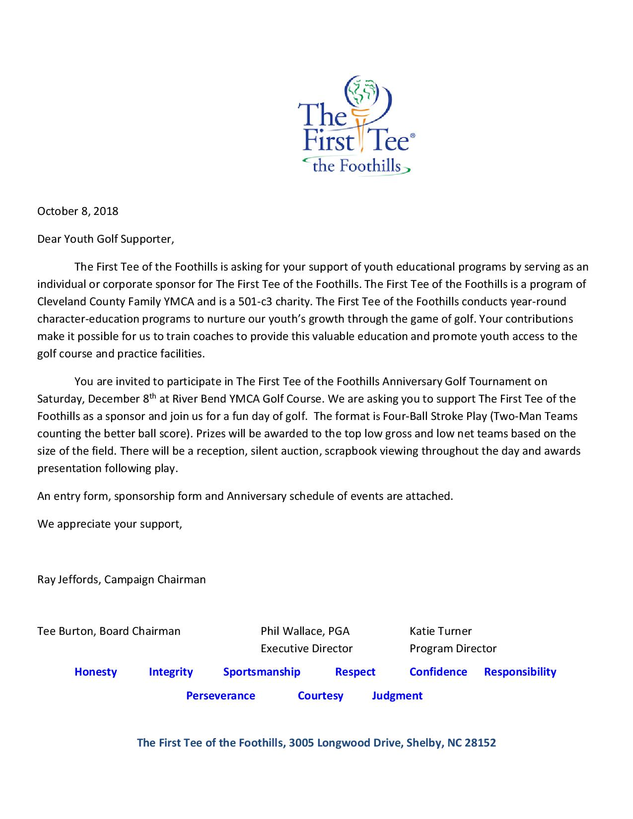Letter The First Tee Anniversary   2018-page-001